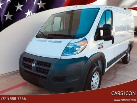 2018 RAM ProMaster Cargo for sale at CARS ICON INC in Rosenberg TX