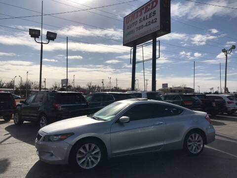2009 Honda Accord for sale at United Auto Sales in Oklahoma City OK