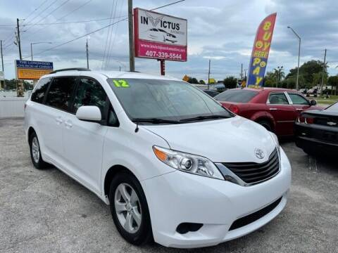 2012 Toyota Sienna for sale at Invictus Automotive in Longwood FL