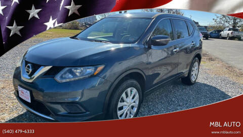 2014 Nissan Rogue for sale at MBL Auto Woodford in Woodford VA