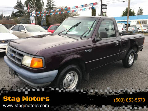 1994 Ford Ranger for sale at Stag Motors in Portland OR