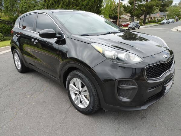 2017 Kia Sportage for sale at CAR CITY SALES in La Crescenta CA