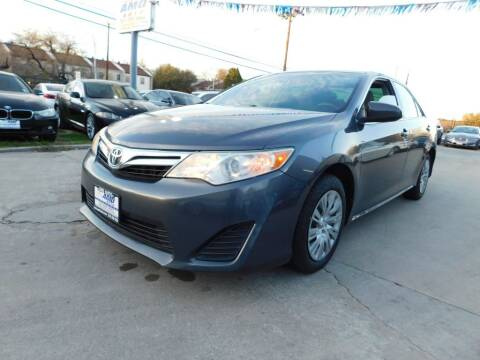 2014 Toyota Camry for sale at AMD AUTO in San Antonio TX