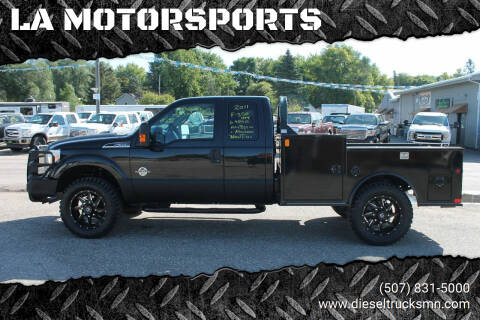 2011 Ford F-350 Super Duty for sale at LA MOTORSPORTS in Windom MN