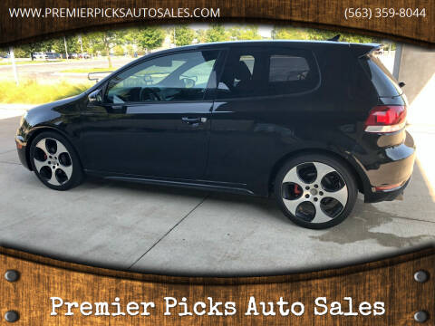2012 Volkswagen GTI for sale at Premier Picks Auto Sales in Bettendorf IA