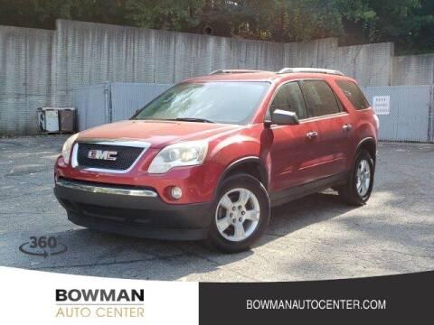 2012 GMC Acadia for sale at Bowman Auto Center in Clarkston MI