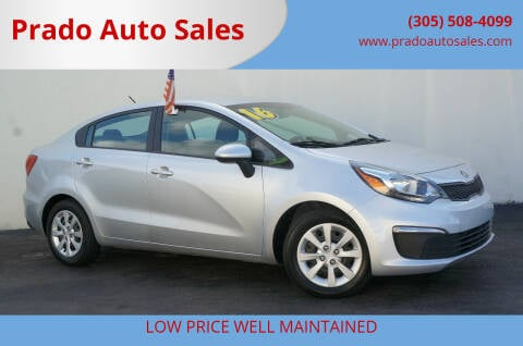 2016 Kia Rio for sale at Prado Auto Sales in Miami FL