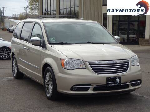 2013 Chrysler Town and Country for sale at RAVMOTORS 2 in Crystal MN