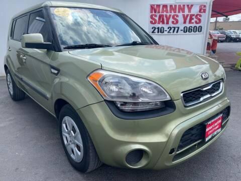2013 Kia Soul for sale at Manny G Motors in San Antonio TX