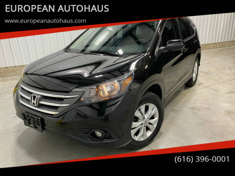2012 Honda CR-V for sale at EUROPEAN AUTOHAUS in Holland MI