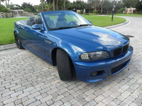2003 BMW M3 for sale at AUTO HOUSE FLORIDA in Pompano Beach FL