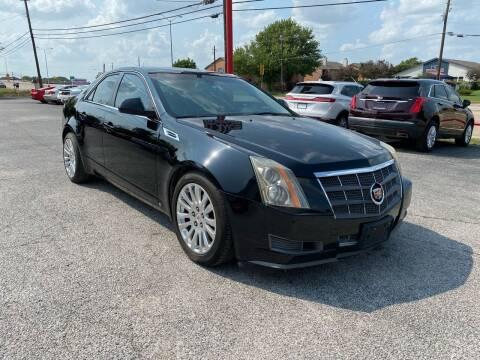 2008 Cadillac CTS for sale at LLANOS AUTO SALES LLC - LEDBETTER in Dallas TX