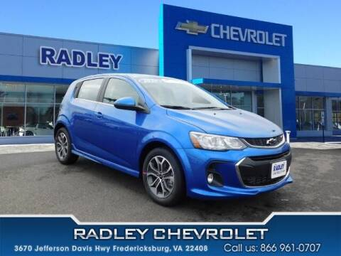 2020 Chevrolet Sonic for sale at Radley Cadillac in Fredericksburg VA