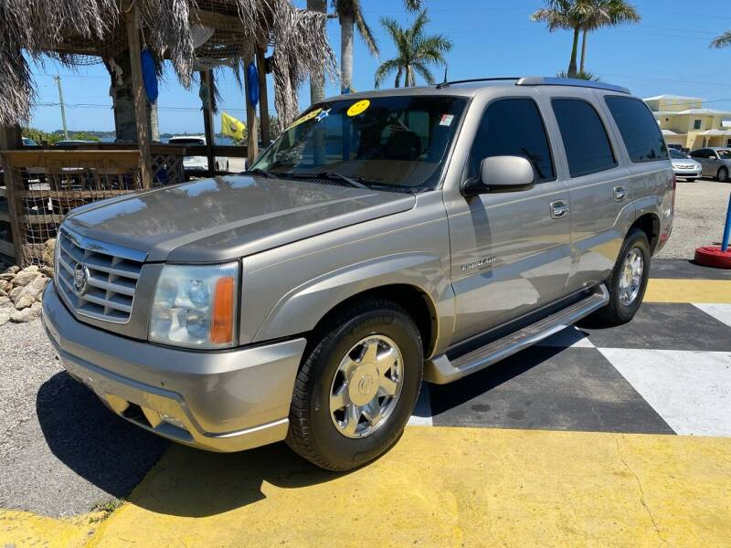 2003 Cadillac Escalade for sale at D&S Auto Sales, Inc in Melbourne FL