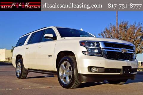 2017 Chevrolet Suburban for sale at RLB Sales and Leasing in Fort Worth TX