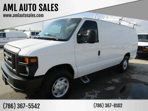 2009 Ford E-Series Cargo for sale at AML AUTO SALES - Cargo Vans in Opa-Locka FL