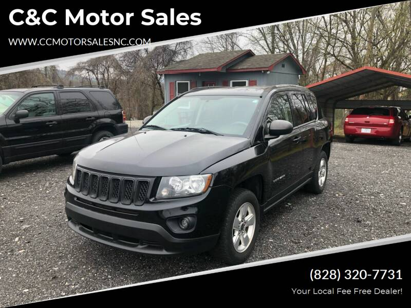 2014 Jeep Compass for sale at C&C Motor Sales LLC in Hudson NC