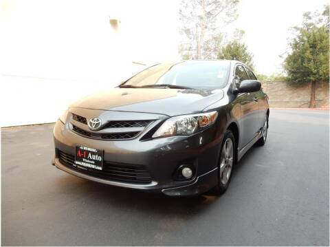 2011 Toyota Corolla for sale at A-1 Auto Wholesale in Sacramento CA