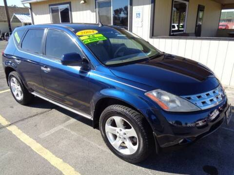 2004 Nissan Murano for sale at BBL Auto Sales in Yakima WA