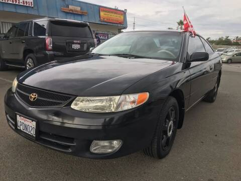 2001 Toyota Camry Solara for sale at Gold Coast Motors in Lemon Grove CA