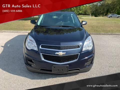 2015 Chevrolet Equinox for sale at GTR Auto Sales LLC in Haltom City TX