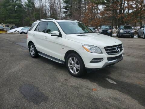 2012 Mercedes-Benz M-Class for sale at Pelham Auto Group in Pelham NH