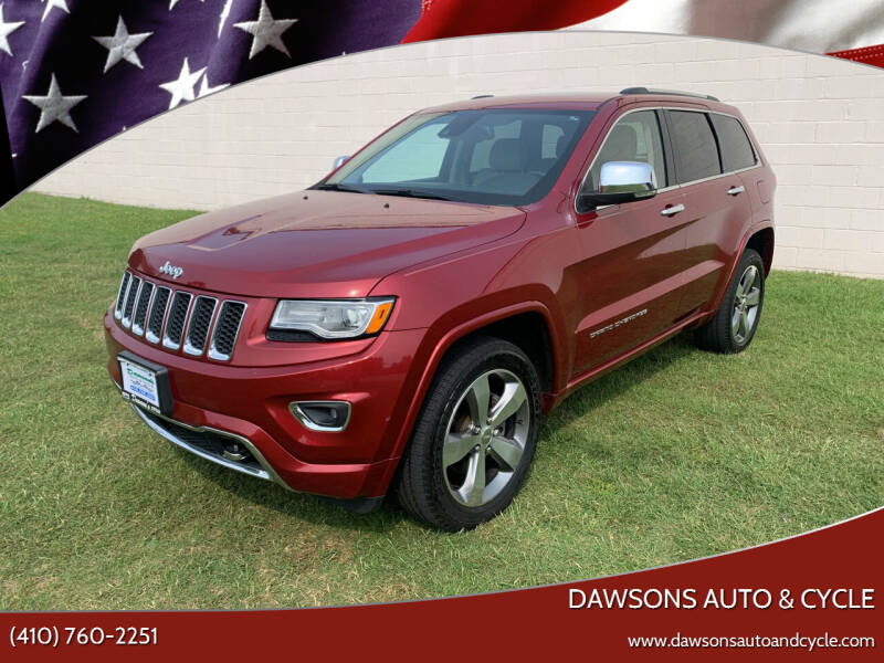 2015 Jeep Grand Cherokee for sale at Dawsons Auto & Cycle in Glen Burnie MD