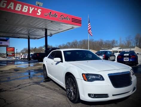 2012 Chrysler 300 for sale at GABBY'S AUTO SALES in Valparaiso IN