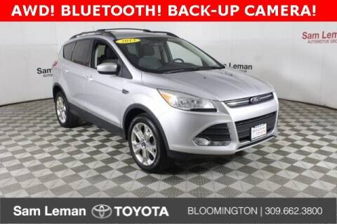 2013 Ford Escape for sale at Sam Leman Toyota Bloomington in Bloomington IL