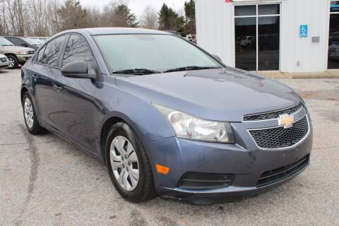2014 Chevrolet Cruze for sale at UpCountry Motors in Taylors SC