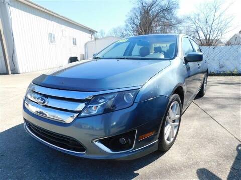 2011 Ford Fusion for sale at D & T Auto Sales, Inc. in Henderson KY