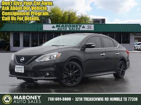 2018 Nissan Sentra for sale at Maroney Auto Sales in Humble TX