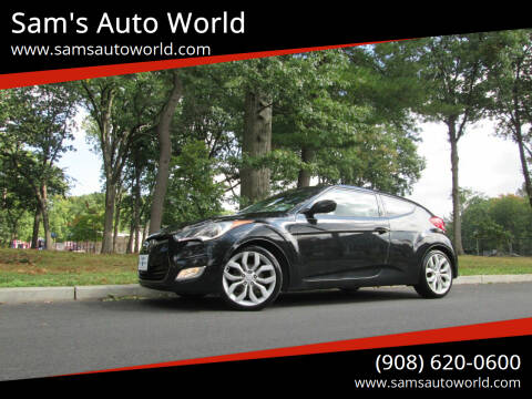 2013 Hyundai Veloster for sale at Sam's Auto World in Roselle NJ