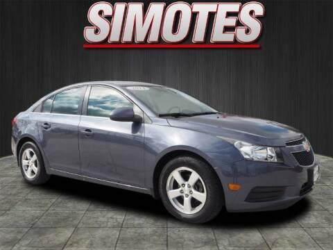 2013 Chevrolet Cruze for sale at SIMOTES MOTORS in Minooka IL