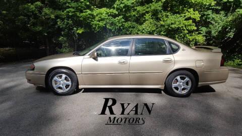 2005 Chevrolet Impala for sale at Ryan Motors LLC in Warsaw IN