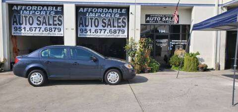 2008 Chevrolet Cobalt for sale at Affordable Imports Auto Sales in Murrieta CA