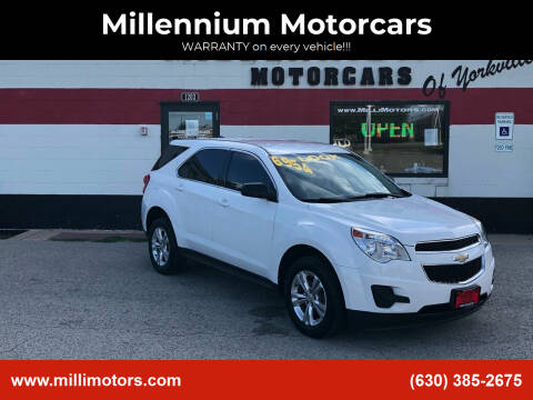 2011 Chevrolet Equinox for sale at Millennium Motorcars in Yorkville IL