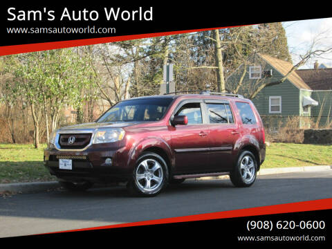 2011 Honda Pilot for sale at Sam's Auto World in Roselle NJ