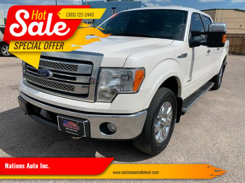 2013 Ford F-150 for sale at Nations Auto Inc. in Denver CO