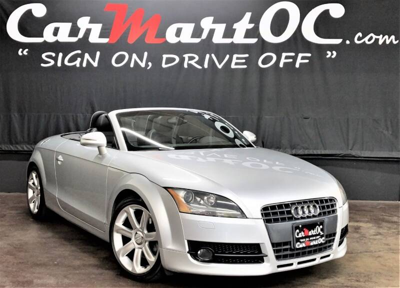 2008 Audi TT for sale at CarMart OC in Costa Mesa CA