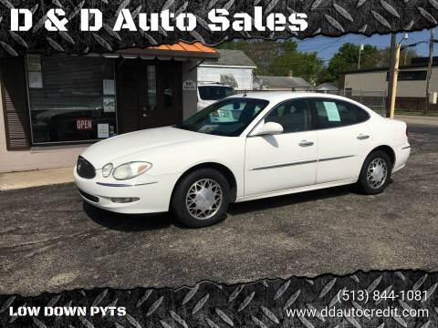 2005 Buick LaCrosse for sale at D & D Auto Sales in Hamilton OH