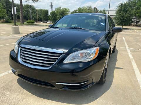 2014 Chrysler 200 for sale at Safe Trip Auto Sales in Dallas TX
