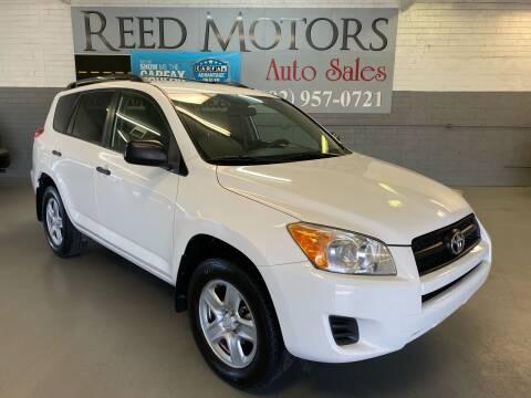 2010 Toyota RAV4 for sale at REED MOTORS LLC in Phoenix AZ