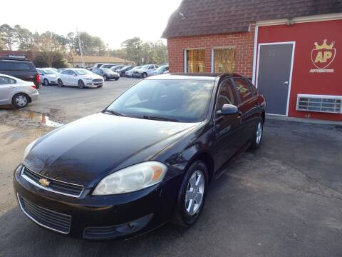 2010 Chevrolet Impala for sale at AP Automotive in Cary NC