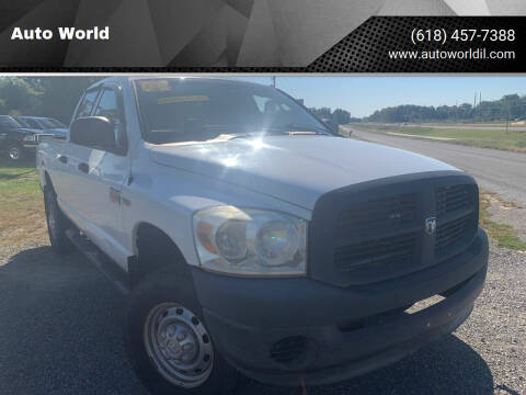 2008 Dodge Ram Pickup 2500 for sale at Auto World in Carbondale IL