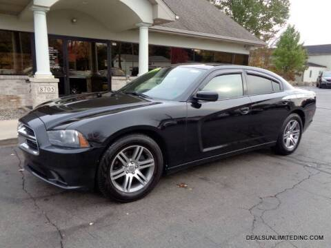 2013 Dodge Charger for sale at DEALS UNLIMITED INC in Portage MI