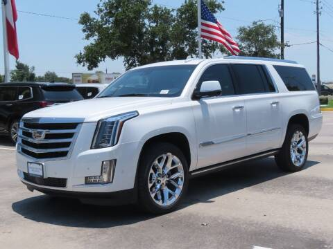 2018 Cadillac Escalade ESV for sale at Ron Carter  Clear Lake Used Cars in Houston TX