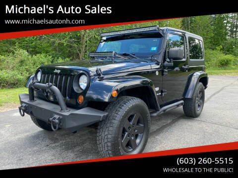 2011 Jeep Wrangler for sale at Michael's Auto Sales in Derry NH
