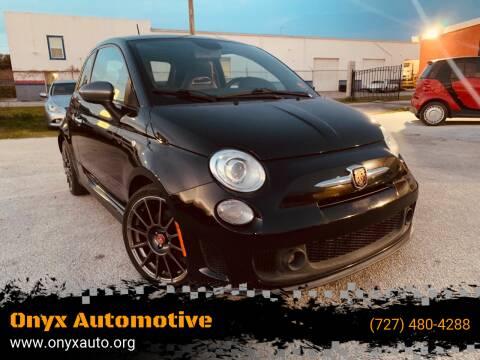 2013 FIAT 500 for sale at ONYX AUTOMOTIVE, LLC in Largo FL