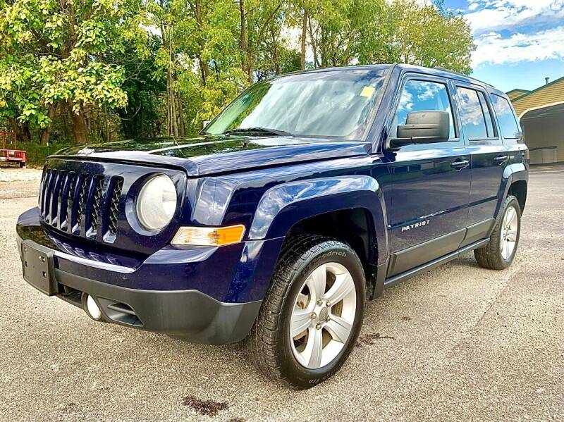 2012 Jeep Patriot for sale at Prime Time Auto Sales LLC in Martinsville IN